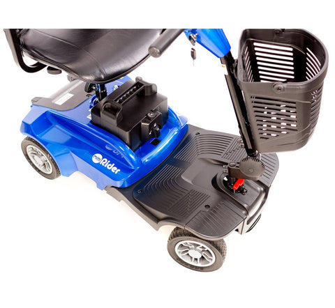 EV RIDER MINIRIDER Electric Mobility Scooter, Red/Blue, EV-MR - Buy Online