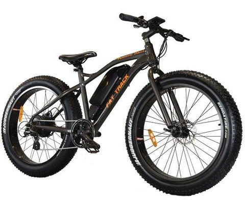 Phantom Bikes Fat Track Fat Tire Off Road 500W 48V Electric Bike - Buy Online