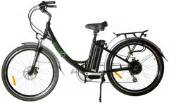 Green Bike USA GB2 Electric Bicycle w/ LCD - Long Range Aluminum Frame Step Through with Samsung Battery - Buy Online