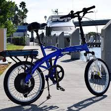 PRODECOTECH MARINER 500 V5 9 Speed Folding Electric Bicycle - 500W - Buy Online