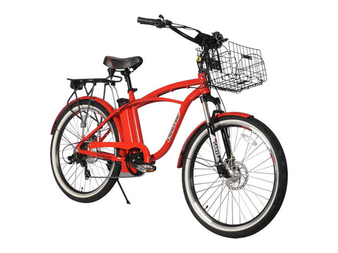 X-Treme Kona 36 Volt Men's Electric Beach Cruiser Bicycle - Compact Lithium Powered E-Bike - Buy Online