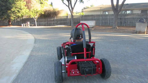 Go-Bowen Baha X 1000W 48V Electric Go Kart, Fully Assembled, Steel Frame - Buy Online