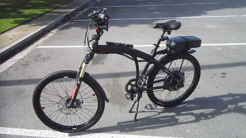 PRODECOTECH PHANTOM X2 V5 36V 500W 8 Speed Folding Electric Bicycle - Buy Online