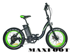 Addmotor Maxfoot M140 500W 48V Fat Tire Folding Electric Bike