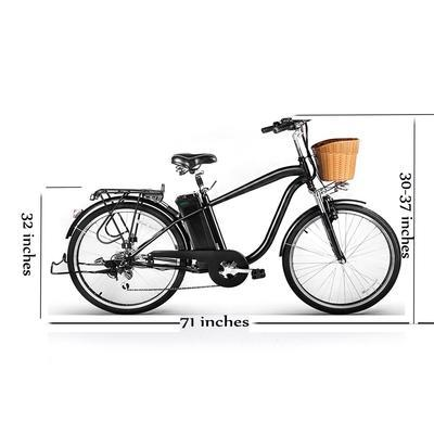 "NAKTO 26"" CAMEL 6 SPEED 36v 250w ELECTRIC BIKE MEN - Buy Online"