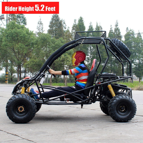 Dongfang Motor Bolt 200CC Off-Road Gas Go Kart DF200GKB - Buy Online