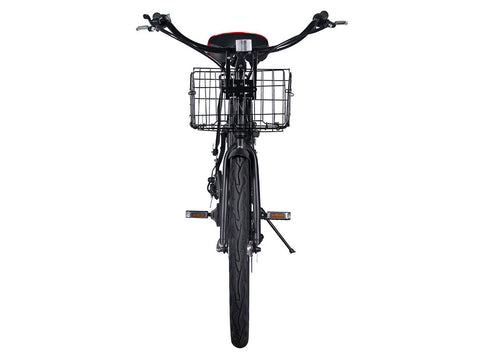 X-Treme Newport Beach Cruiser Electric Bike - Super-lightweight Compact Lithium Powered w/ Basket - Buy Online