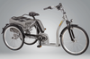 Image of Pfiff Grazia 26/24 Bosch Electric Tricycle, Silver
