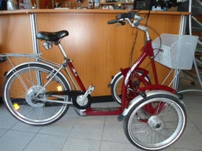 Pfiff Capo 20/26 3 Speed Adult Tricycle - Buy Online