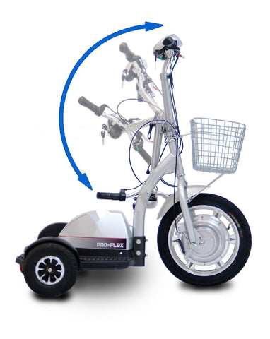 PET PRIORITY PRO Flex 350W 36V Three-Wheel Electric Mobility Scooter - Buy Online