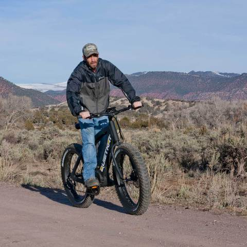 2018 Quietkat Fatkat Ranger 48V 750W Fat Tire Electric Bike, 18QKH750CCHM - Buy Online