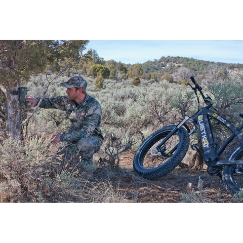 2017 Quietkat 1000W Mid-Drive 48V Fat Tire Electric Bike, QKM1000-lB