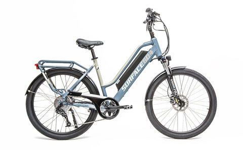 Surface 604 Rook 500W 48V Step-Through Lithium Electric Cruiser Bike 2020 - Buy Online
