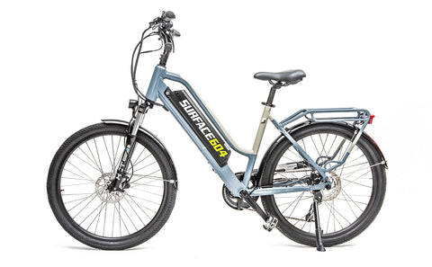 Surface 604 Rook 500W 48V Step-Through Lithium Electric Cruiser Bike - Buy Online