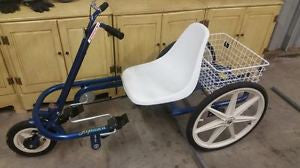 "Trailmate Joyrider 24"" Wheel Adjustable Seat Step-Through Trike - Buy Online"
