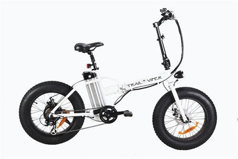 SSR Motorsports Trail Viper 36V 350W Folding Fat Tire Electric Bike - Buy Online