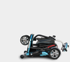 Image of EV RIDER TRANSPORT Electric Mobility Scooter, BLUE/COPPER/VIOLET - Buy Online