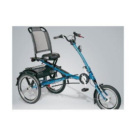 Pfiff Scooter Trike S (Short) Adult Tricycle, Blue - Buy Online