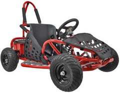 Go-Bowen Baha X 1000W 48V Electric Go Kart, Fully Assembled, Steel Frame