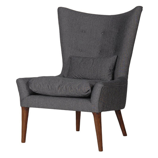 Grey High Back Chair