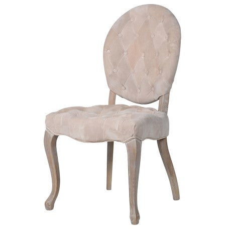 Nude Pigskin Dining Chair