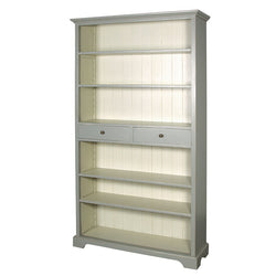 Grey Bookcase with Drawers