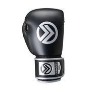 Sabre Boxing Glove-Boxing Gloves-BLACK/SILVER-16OZ-2AA006-066-16OZ-Onward