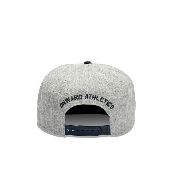 OA Original Monogram 2Tone 7Eighty-Hats-GREY MARLE/NAVY-STD-4LN001-082-STD-Onward
