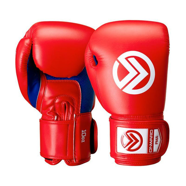 Sabre Boxing Glove-Boxing Gloves-RED/BLUE-8OZ-2AA006-645-8OZ-Onward