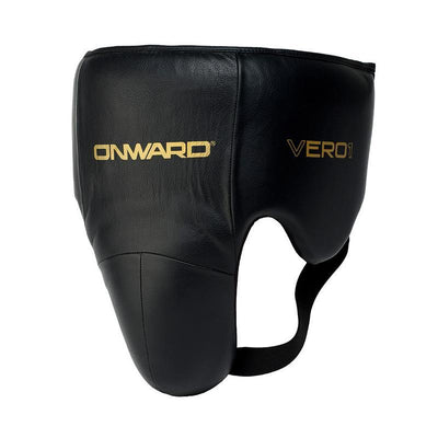 Vero No Foul Guard-Groin Guards-BLACK/GOLD-S-2AB002-095-S-Onward