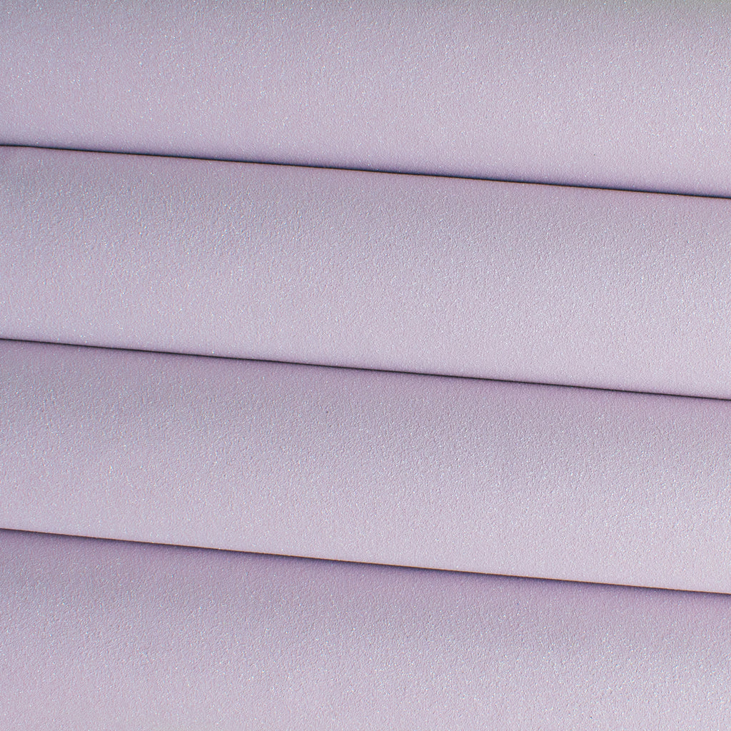 Glitter Faux Suede Fabric - Lilac