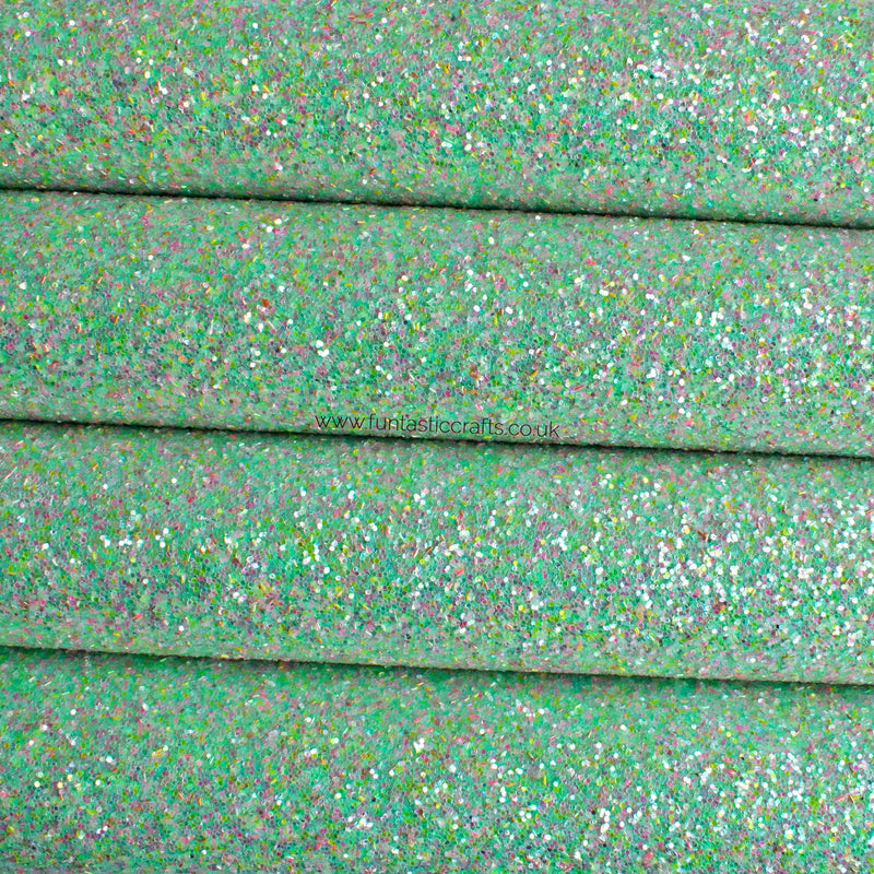 Mermaid Magic Chunky Glitter Fabric