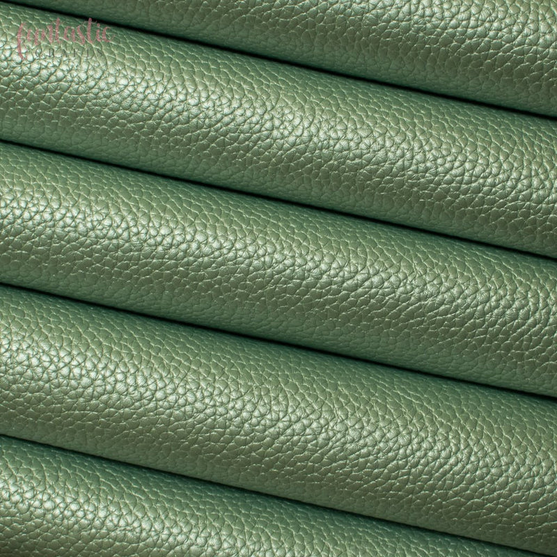 Pearl Metallic Textured Leatherette - Pearl Mint Pearl Leatherette A5 Funtastic Crafts faux leather metallic soft textured £1.79 Funtastic Crafts
