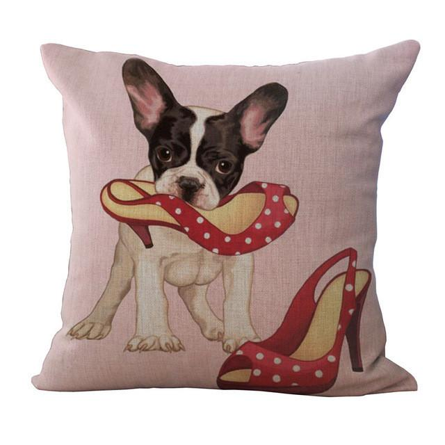Pillow Cases With Dogs