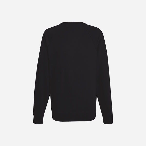 Dabs Ladies Essential Sweatshirt-Black
