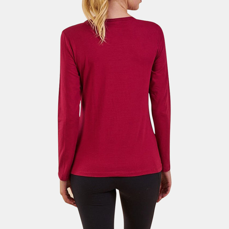 Dabs Ladies Crew Long Sleeve Shirt - dabs-fitness