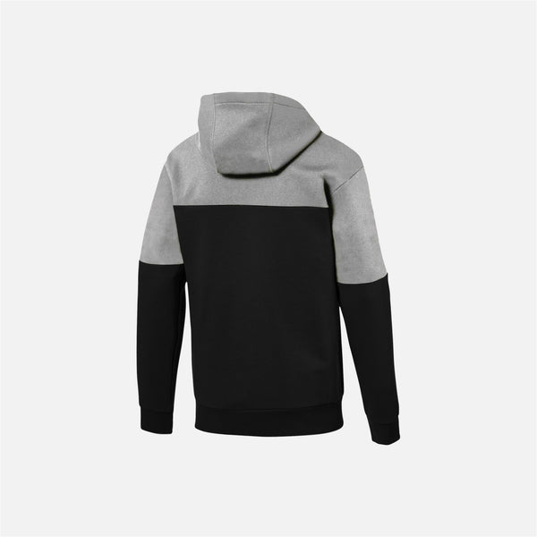 Dabs Mens Rebel Hood- Black/Heather Grey - DABS® Fitness Wear
