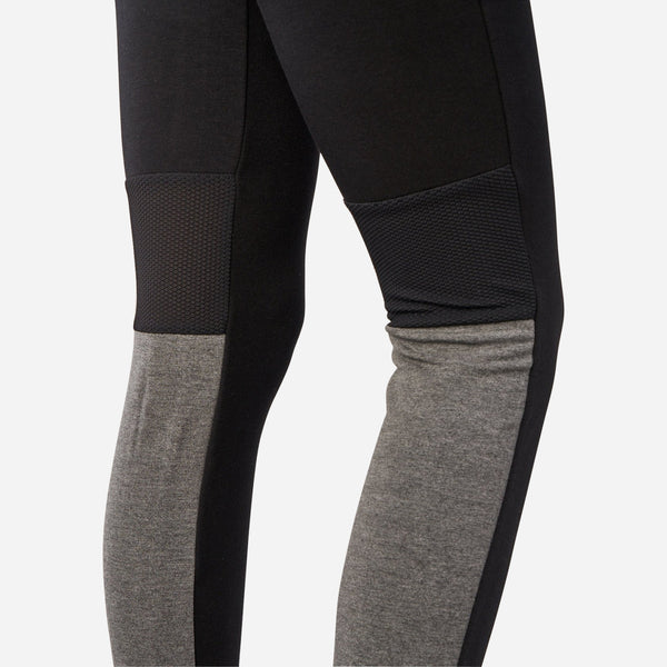 Dabs Ladies Jogger pants- Black/Heather Grey - dabs-fitness