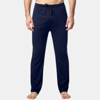 Dabs Men's Lounge Trousers-Navy - dabs-fitness