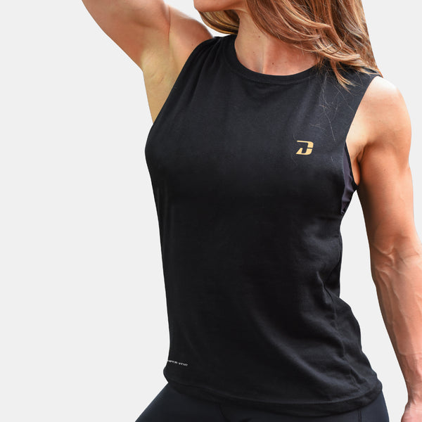 Dabs Ladies Muscle Tank - dabs-fitness