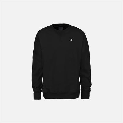 Dabs Mens Essential Sweatshirt-Black - dabs-fitness