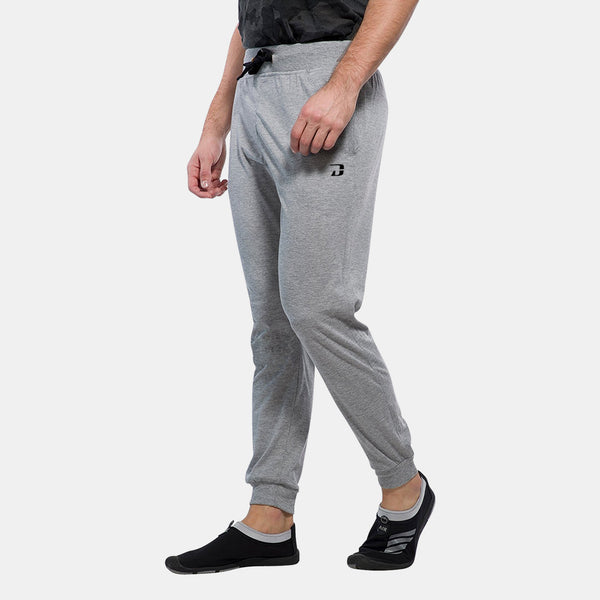 Dabs Men's Performance Pants- Heather Grey - dabs-fitness