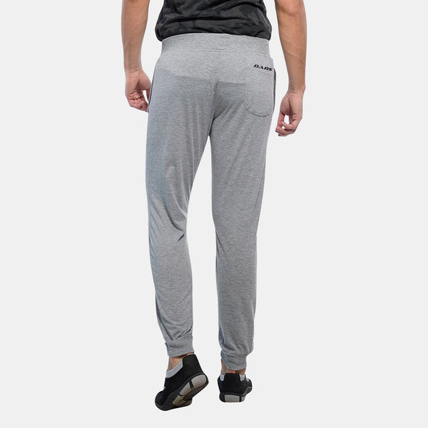Dabs Men's Performance Trousers- Heather Grey - DABS® Fitness Wear
