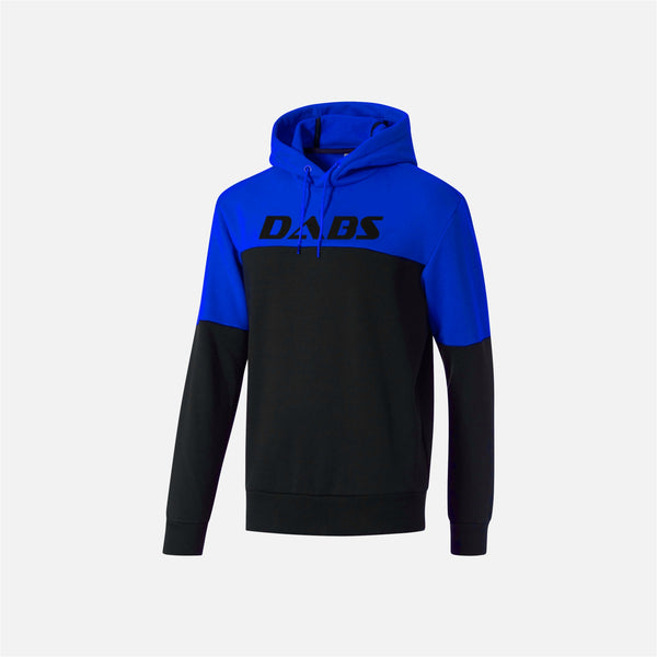Dabs Mens Rebel Hood- Black/Royal - dabs-fitness