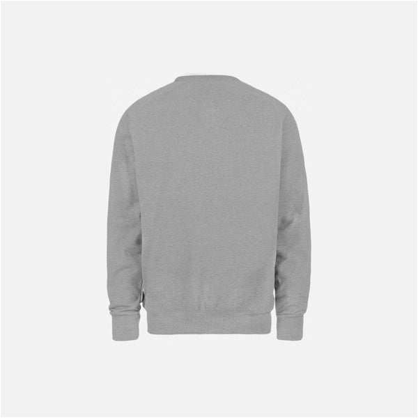 Dabs Mens Essential Sweatshirt-Heather Grey - dabs-fitness