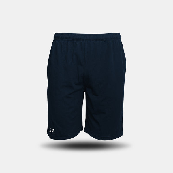 Dabs Men's Lounge Shorts - Navy - dabs-fitness