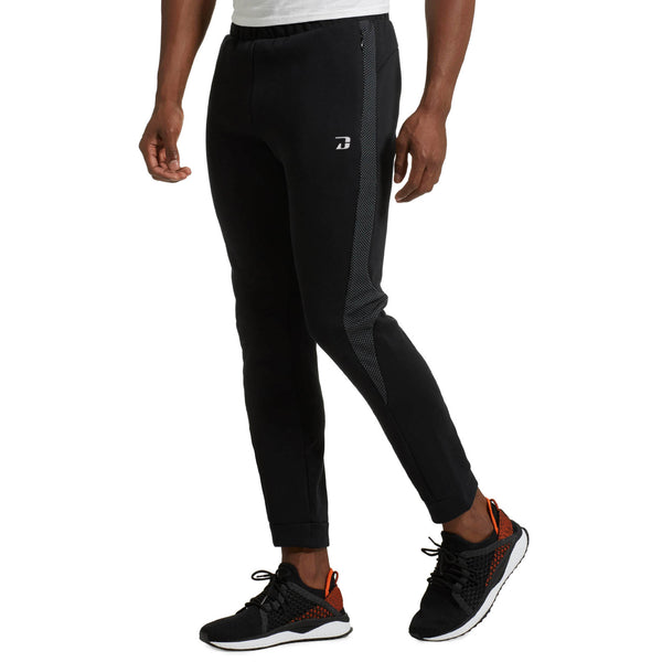 Dabs Mens Evostripe Trousers -Black - DABS® Fitness Wear