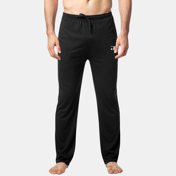 Dabs Men's Lounge Pants-Black - dabs-fitness