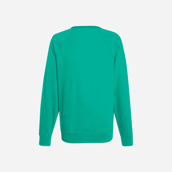 Dabs Ladies Essential Sweatshirt-Aqua green
