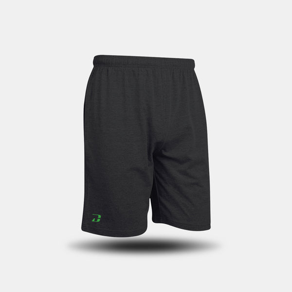 Dabs Men's Lounge Shorts- Charcoal - dabs-fitness